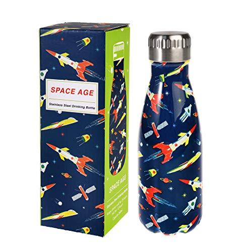 Rex London Edelstahl - Flasche/Trinkflasche Space Age small - Art.Nr. 29095