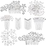 Beauty Shopping 44 Pieces Wedding Hair Comb Faux Pearl Crystal Bride Hair Accessories
