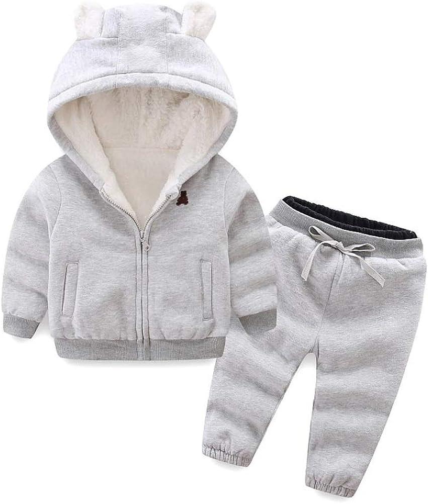 Kids In stock Fleece Hoodie Jacket Winter Girls Coats f for Max 58% OFF