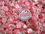 Primrose Sugar Free Peppermint Starlites - 1.5 lbs of Fresh Delicious Bulk Wrapped Candy with Refrigerator Magnet