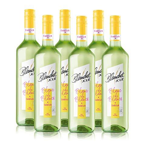 Blanchet Jolie Wein Blanc de Blancs Lieblich (6 x 0,75l)