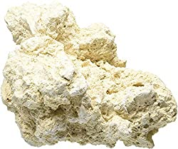 dry rock like this will become live rock in your aquarium