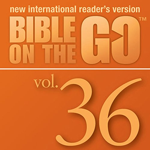 Bible on the Go, Vol. 36: The Twelve Disciples; Sermon on the Mount, Part 1 (Matthew 5-6, 10) cover art