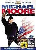 Michael Moore Collectors Set (DVD, 3-Disc Set) BOX SET, NEW
