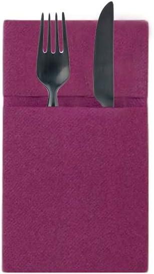 Portaposate Carta A Secco Quick Poket Posate Tavola Usa E Getta Tovaglioli Tessili Per La Casa Casa E Cucina Aaaid Org