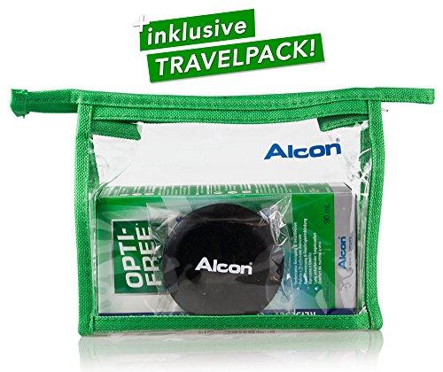 Alcon Optifree Puremoist 2x300ml Kontaktlinsen-Pflegemittel inkl. Reise-Set 90ml (Opti-Free) - 4
