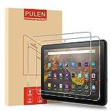 PULEN Panzerglas für Fire HD 10/ Fire HD 10 Plus/ Fire HD 10 Kids Edition/ Fire HD 10 Kids Pro Schutzfolie (11. Generation, 2021 Modell) , [2 Stück]