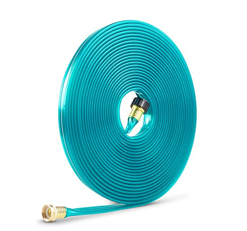 Gilmour 2-in-1 Sprinkler/Soaking Hose, Green, 50 Feet