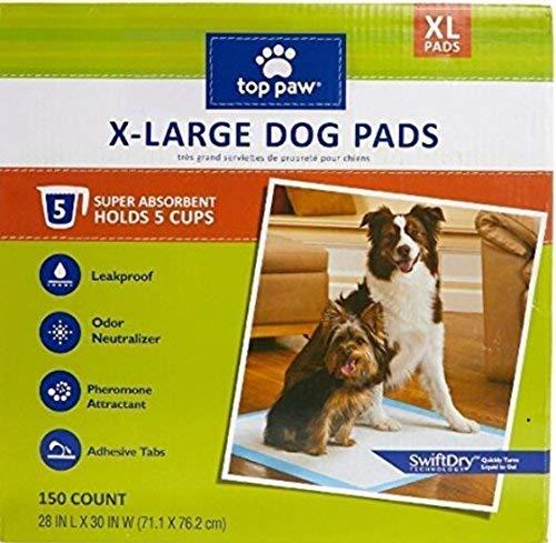 top paw xl dog pads