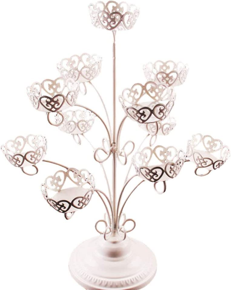 BESPORTBLE Tiered Serving Stand Max 58% OFF 3 Milwaukee Mall Tier Cupcake Tow