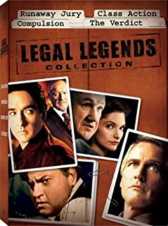 Legal Legends Collection - Boxed Set: (Runaway Jury / Class Action / Compulsion / The Verdict)