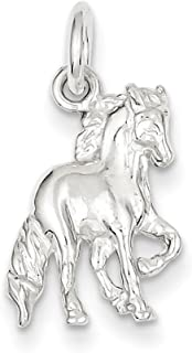 West Coast Jewelry Sterling Silver Horse Charm