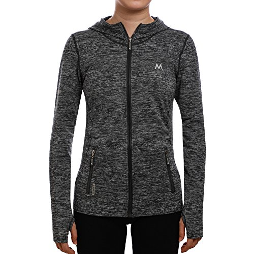 SEEU Damen Trainingsjacke, Grau, S