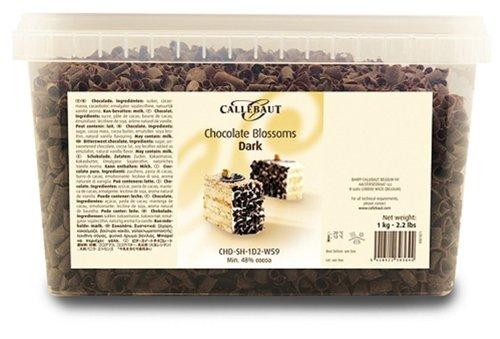 Callebaut Blossoms - Rizos de Chocolate Negro (virutas) 1kg