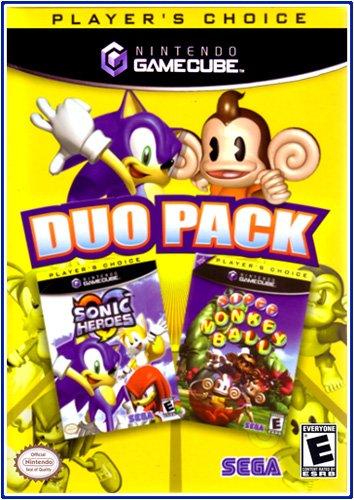 Sonic Heroes / Super Monkey Ball GameCube Duo-Pack