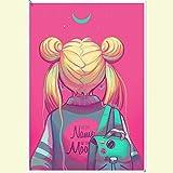 Wandaufkleber Sailor Moon Anime Poster Selbstklebende
