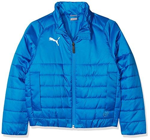 PUMA Kinder Liga Casuals Padded Jacket Jr Jacke, Electric Blue Lemonade, 152