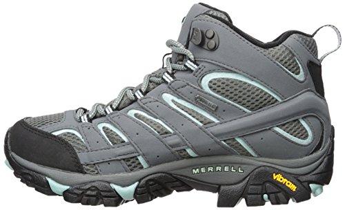 Merrell Women's Moab 2 Mid Gtx Hiking Boot, Sedona Sage, 7 W US