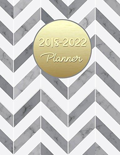2018 - 2022 Planner: Agenda Planner For The Next Five Years, 60 Months Calendar,Monthly Schedule Organizer |Appointment Notebook, Monthly Planner, ... (2018-2022 five year planner) (Volume 4)