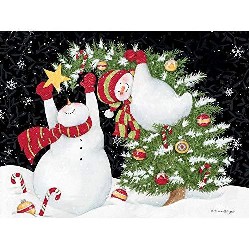 LANG デコレーションファン クラシック クリスマスカード (2004044)