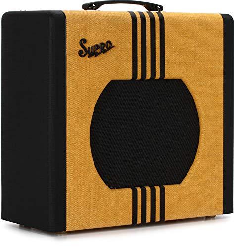 Supro Delta King 10 1x10-inch 5-watt Tube Combo Amp - Tweed and Black