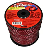 Cyclone CY105S3 Red 0.105-Inch-by-690-Foot Commercial Grade Trimmer Line