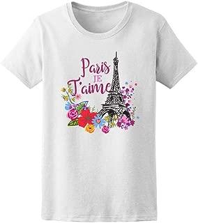 Paris Je T'aime Eiffel Tower Tee Women's -Image by Shutterstock