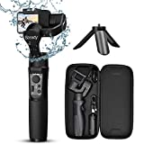 3-Axis Gimbal Stabilizer for GoPro - Handheld Gimbal w/Inception & Sport Mode IPX4 Splash Proof Trigger Button for Action Camera Hero 7/6/5/4/3, DJI Osmo Action, Yi Cam 4K, AEE - Hohem iSteady Pro2