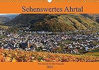 Sehenswertes Ahrtal - Von Altenahr bis Bad Neuenahr (Wandkalender 2022 DIN A3 quer): In den Weinbergen im herrlichen Ahrtal unterwegs (Monatskalender, 14 Seiten )