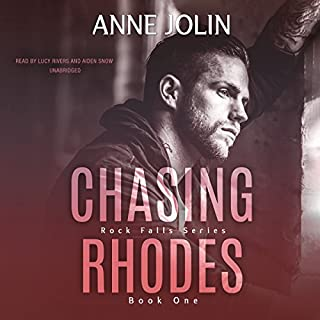 Chasing Rhodes audiobook cover art