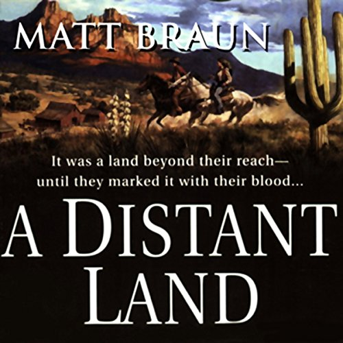 A Distant Land audiobook cover art