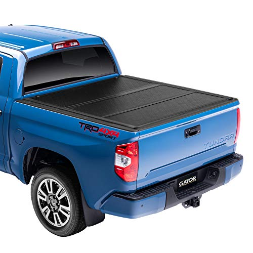 "Gator EFX Hard Tri-Fold Truck Bed Tonneau Cover | GC14020 | fits 2019-2020 Chevy Silverado/GMC Sierra 5' 8"" Bed (New Body Style) 