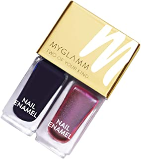 MyGlamm Two Of Your Kind - Voodoo, Black, 5 ml (Pack of 2)