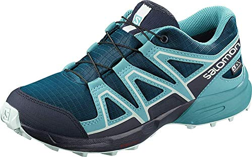 Salomon Speedcross CSWP J, Zapatillas de Trail Running para Niños, Azul (Lyons Blue/Bluebird/Navy Blazer), 31 EU
