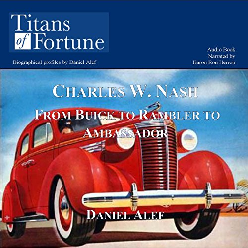 Charles W. Nash audiobook cover art