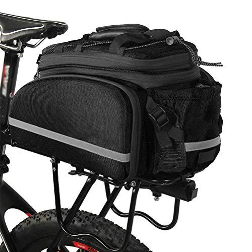 Gepäckträgertaschen Fahrrad, Bike Rear Seat Trunk Bag, Hartschalen-Regal Paket Reisetasche Fahrrad Kamera Tasche Umhängetasche