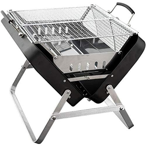ZYCSKTL Piccola Griglia A Carbone per Cortile Domestico, Barbecue Portatile da Esterno A Forma di Valigia, Utensili da Cucina per Barbecue, Adatto per 2-8 Persone