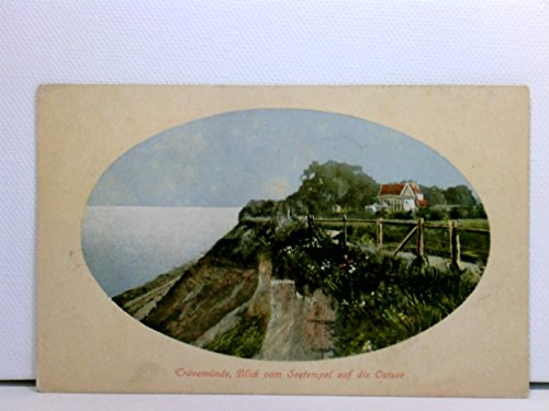 Passepartout-AK Travemünde, Blick vom Seetempel auf die Ostsee; coloriert, 1912