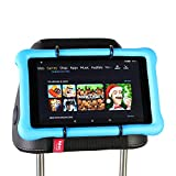 hikig para reposacabezas de coche soporte para todos los Kindle Fire – Kindle Fire HD 6/HD 7/HD X7/X9/HD 6 (2014)/HD 7 (2014)/HD 6 (Kid Edition)/HD 7 (Kid Edition)/New Fire 7 (2015)/HD 8/HD 10