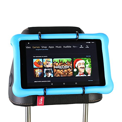 Hikig Auto Kopfstütze Halterung für alle Kindle Fire – Kindle Fire HD 6/HD 7/HD X7/HD X9/HD 6 (2014)/HD 7 (2014)/HD 6 (Kid Edition)/HD 7 (Kid Edition)/New Fire 7 (2015)/HD 8/HD 10