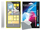 TECHGEAR Clear LCD Screen Protector for Nokia Lumia 920 (Pack of 3)