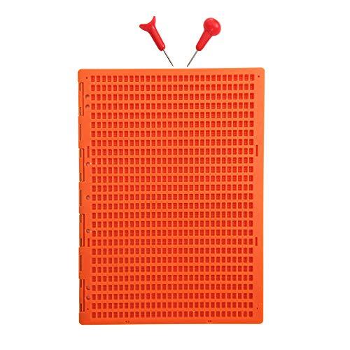 27 Renglones 30 Caracteres Pizarras para Braille Con 2 Punzon