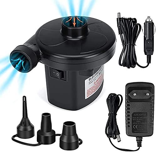 Soplador Inflable Eléctrico Potente Ventilador de Bomba de Aire para Casa de Rebote Inflable, Puente, Castillo Hinchable