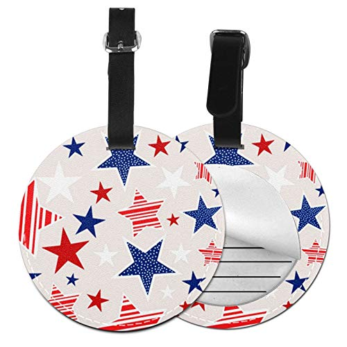 Luggage Tags 4th July American Suitcase Luggage Tags Business Card Holder Travel Id Bag Tag