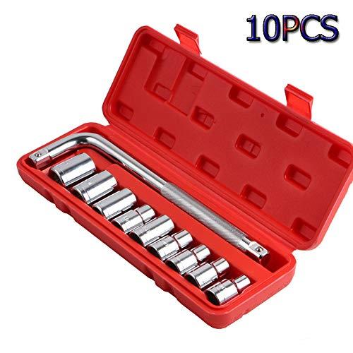 LIANGANAN Reparación clave Juego de llaves de coches Conjunto Llaves de carraca Llaves de llave universal Llave de trinquete Sets Herramientas de mano sistema de la llave (Color : A)