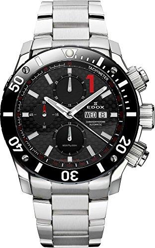 Edox herenhorloge chronoffshore 1 chronograaf analoog automaat 01115 3 NIN