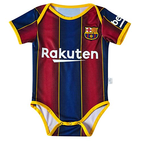 Petersocks Barcelona Club Cotton Bobysuit Onesie Baby Suit for Romper Infant & Toddler 9-18 Month