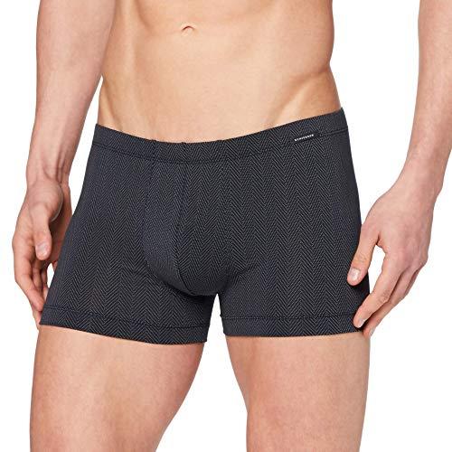 Schiesser Herren Shorts Unterwäsche, dunkelblau, 4