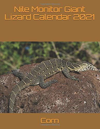 Nile Monitor Giant Lizard Calendar 2021