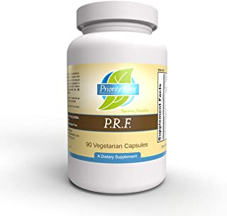 Priority One Vitamins P.R.F. 90 Vegetarian Capsules - Beneficial Effects of White Willow bark.* Natural Formulation - Vege...
